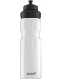 SIGG Trinkflasche 0.75 l Wide Mouth Sports Touch Weiß