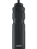 SIGG Trinkflasche 0.75 l Wide Mouth Sports Touch Schwarz