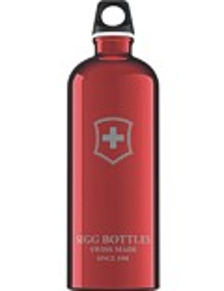 SIGG Trinkflasche 1.0 l Swiss Emblem Rot