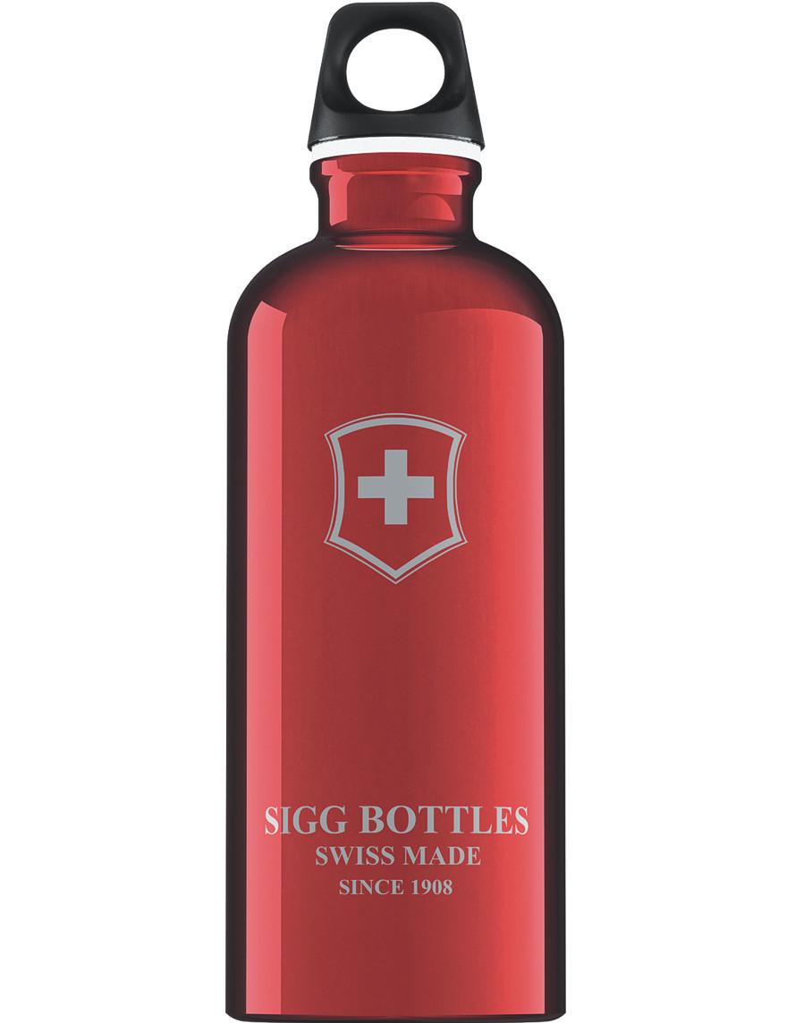 SIGG Trinkflasche 0.6 l Swiß Emblem Rot