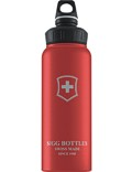 SIGG Trinkflasche 1.0 l Wide Mouth Swiss Emblem Rot Touch