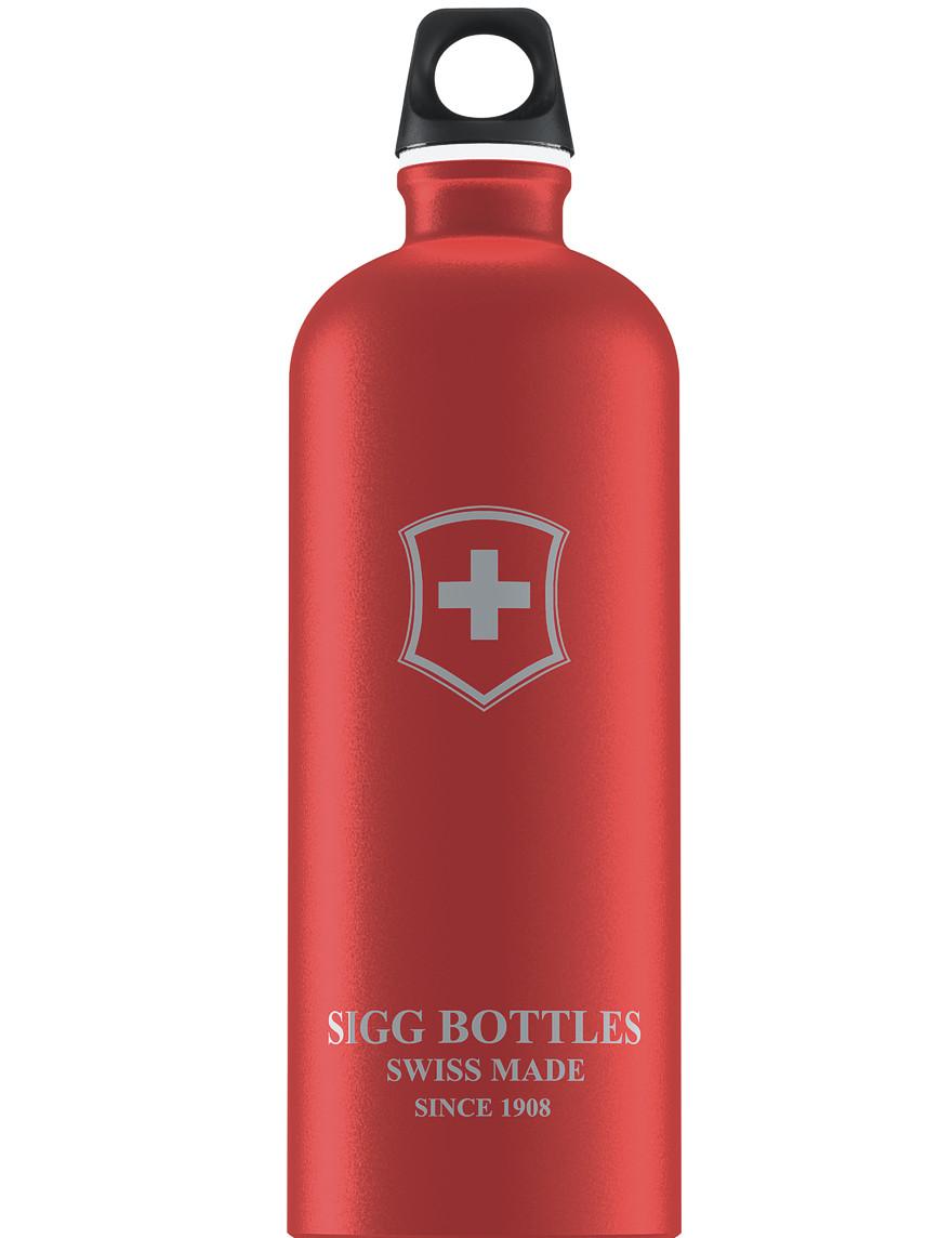 SIGG Trinkflasche 1.0 l Swiss Emblem Rot Touch