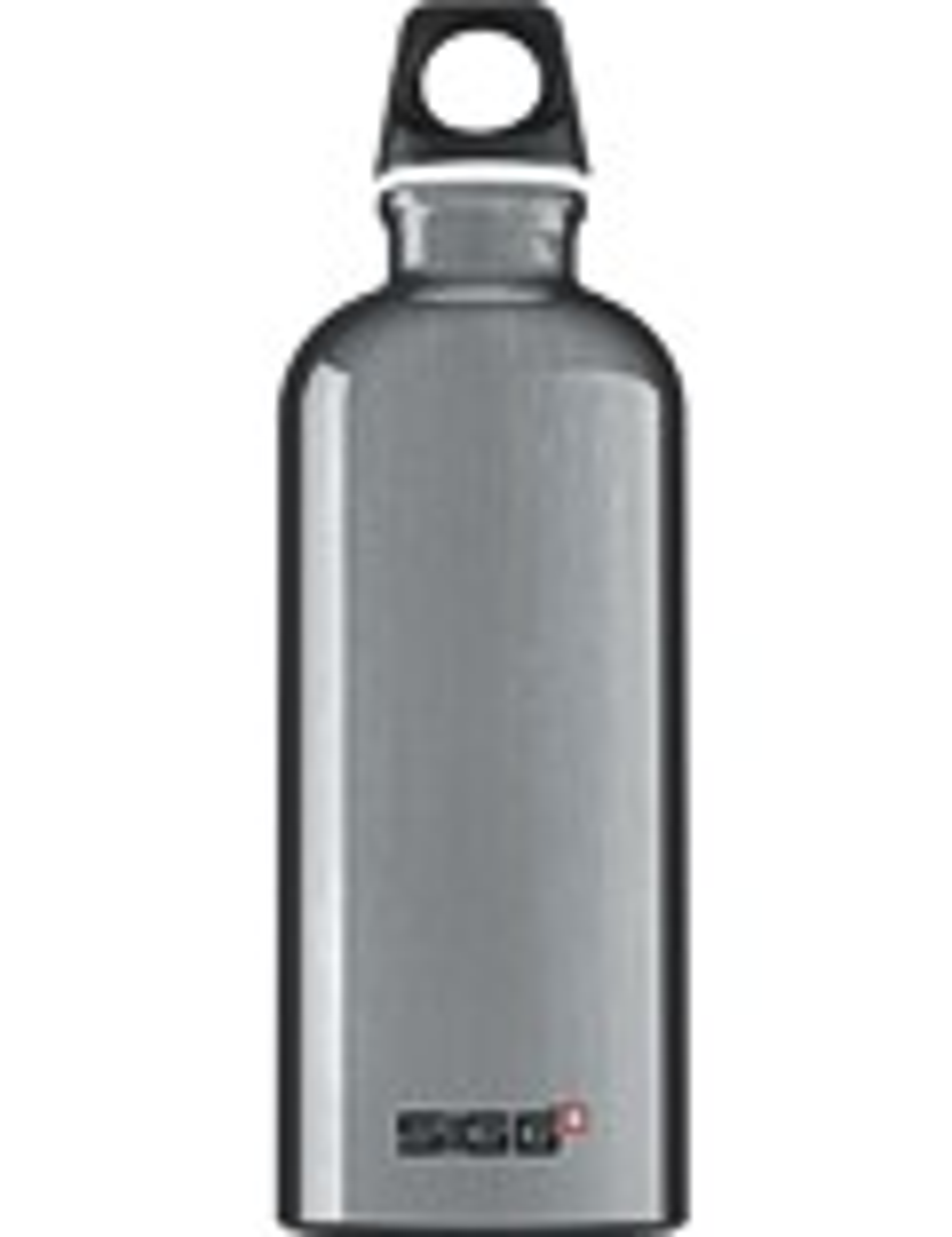 SIGG Trinkflasche 0.6 l Traveller Silber
