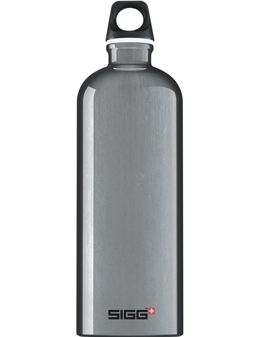 SIGG Trinkflasche 1.0 l Traveller Silber Alu