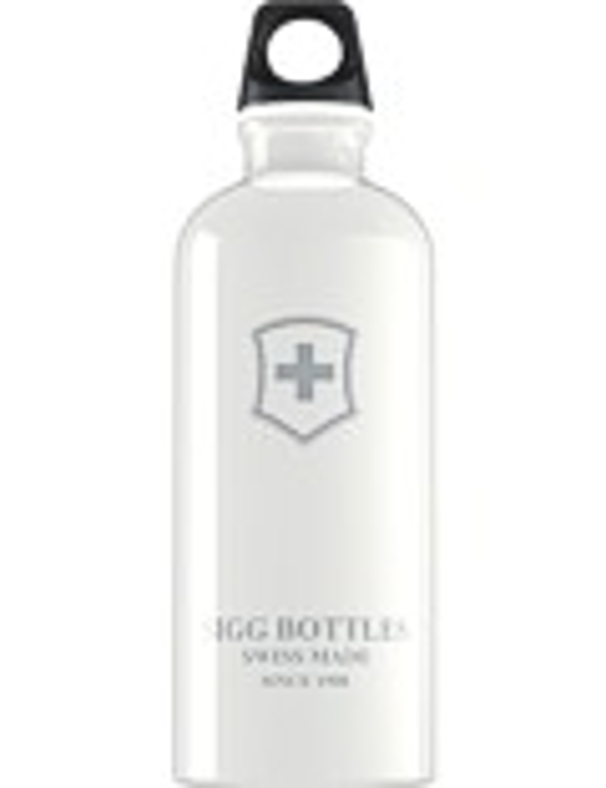 SIGG Trinkflasche 0.6 l Swiß Emblem Weiß