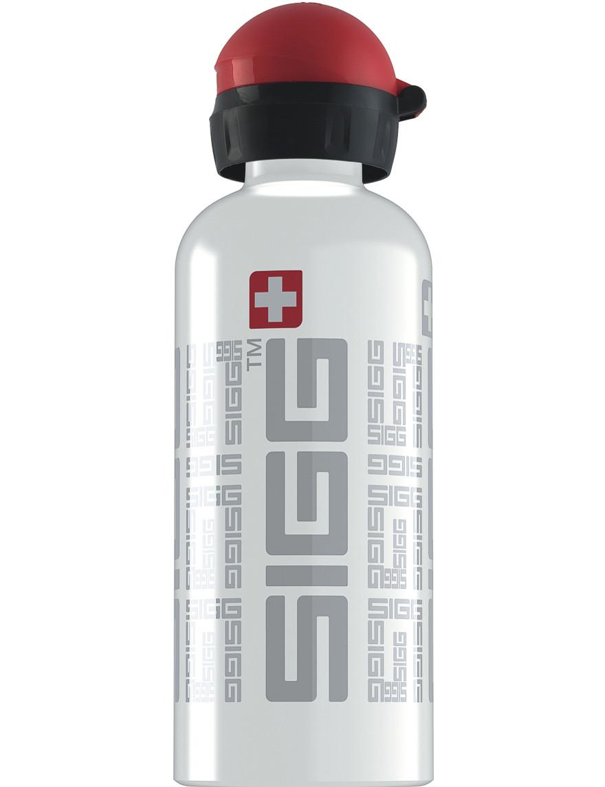 SIGG Trinkflasche 0.6 l SIGGnature Weiß