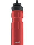 SIGG Trinkflasche 0.75 l Wide Mouth Sports Touch Rot