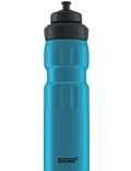 SIGG Trinkflasche 0.75 l Wide Mouth Sports Touch Blau