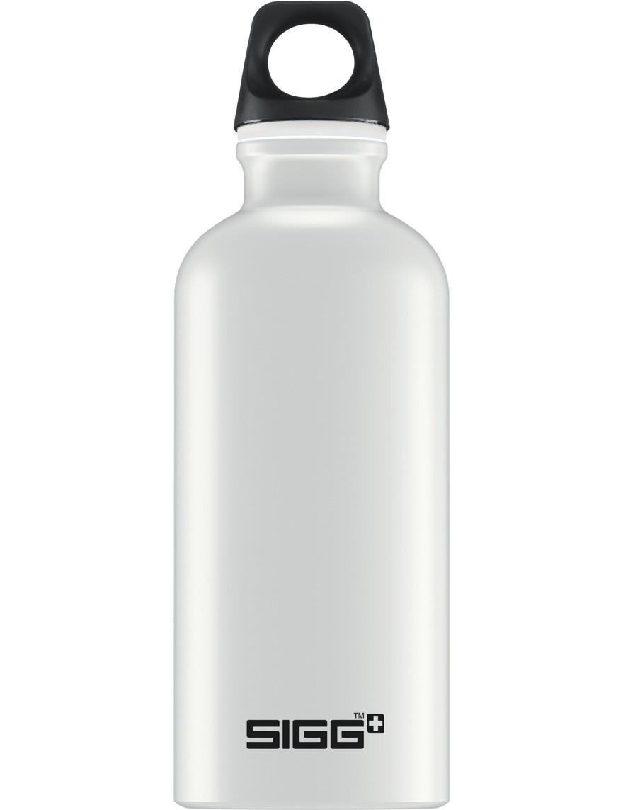SIGG Trinkflasche 0.4 l Claßic Traveller Touch Weiß