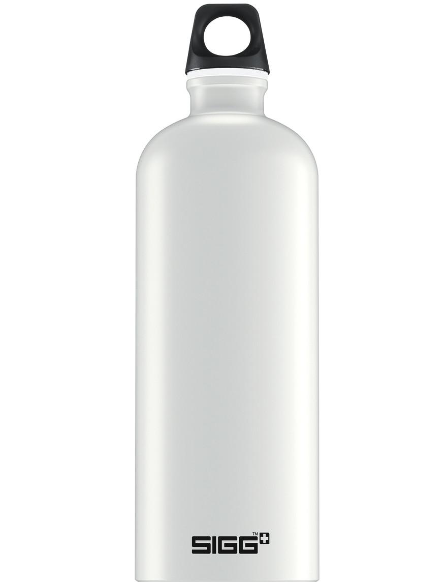 SIGG Trinkflasche 1.0 l Traveller Touch Weiß