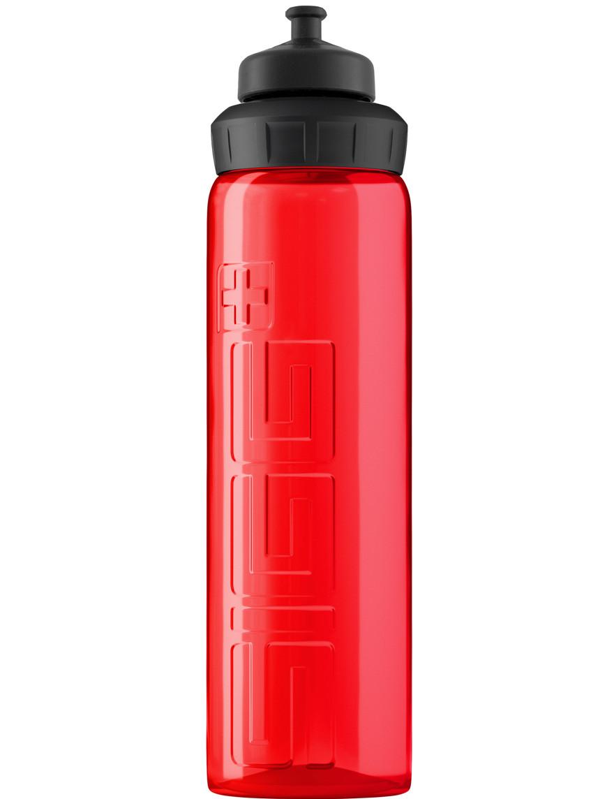 SIGG Trinkflasche 0.75 l WMB VIVA mit 3-Stage Sport Top Rot
