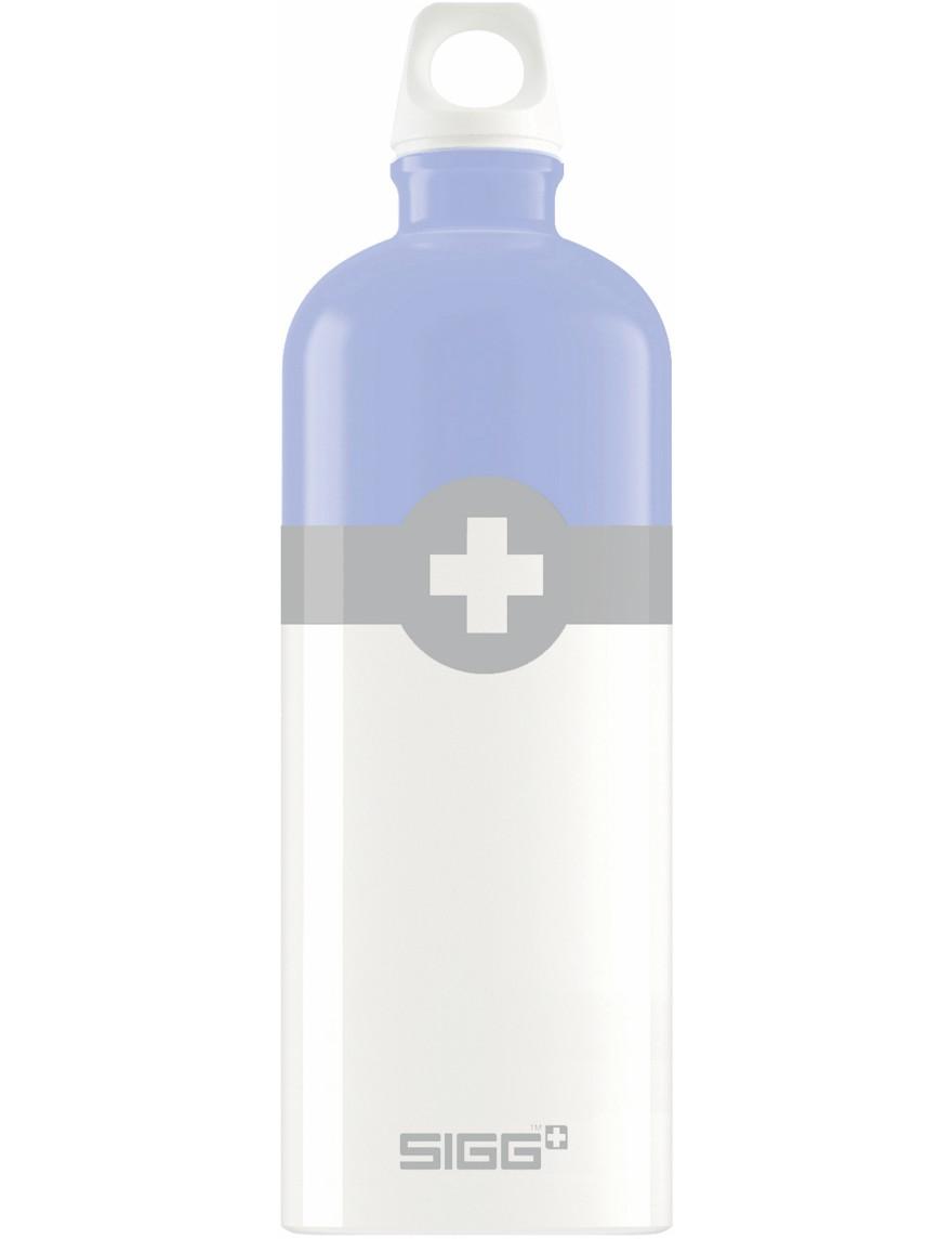 SIGG Trinkflasche 1.0 l Swiss Logo Lila