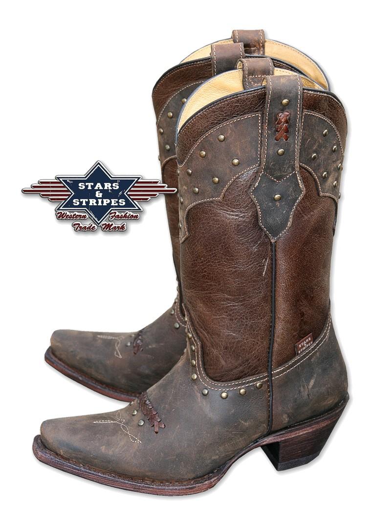 Stars & Stripes Damen Western-Boots »WBL-27«