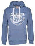 Herren Hoodie VW Bulli ORIGINAL RIDE Dove Blue / White