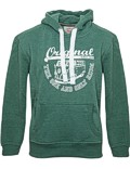 Herren Hoodie VW Bulli ORIGINAL RIDE New Green / White