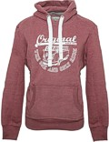 Herren Hoodie VW Bulli ORIGINAL RIDE New Red / White Gr.XL