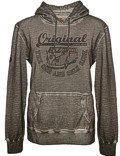 Herren Hoodie VW Bulli ORIGINAL RIDE Grey Gr.M