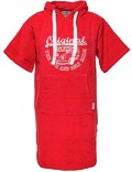 Surf Poncho VW Bulli »ORIGINAL RIDE« Red / White