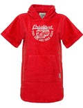 Kids Surf Poncho VW Bulli »ORIGINAL RIDE« Red / White Gr.XS