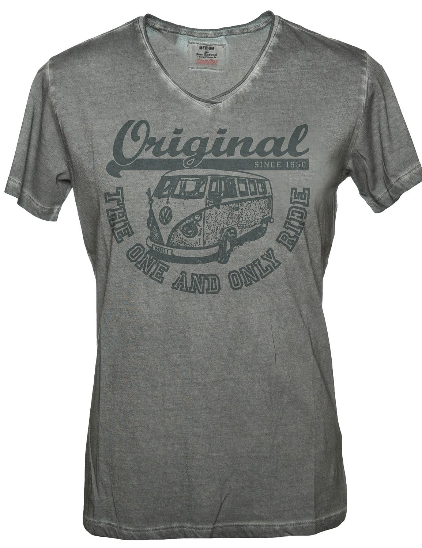 Herren T-Shirt VW Bulli ORIGINAL RIDE Grey