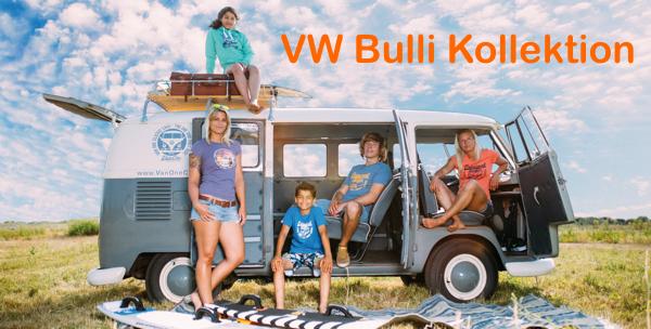 VW T1 Bulli Kollektion. Symbol für Freiheit und Abenteuer